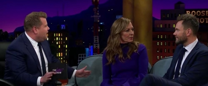 VIDEO: Allison Janney and Joel McHale Discuss Astrology and More on Last Night's LATE LATE SHOW WITH JAMES CORDEN