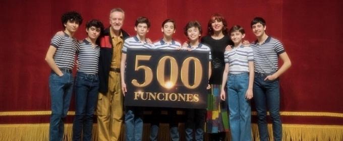 BILLY ELLIOT alcanza las 500 funciones en Madrid