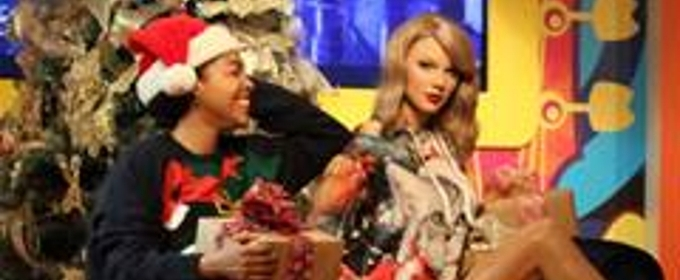 Kylie Jenner, Ariana Grande & Taylor Swift Get Into Christmas Spirit at Madame Tussauds