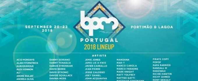 32153fe8b548ac The BPM Festival  Portugal 2018 Announces Final Lineup and Showcases