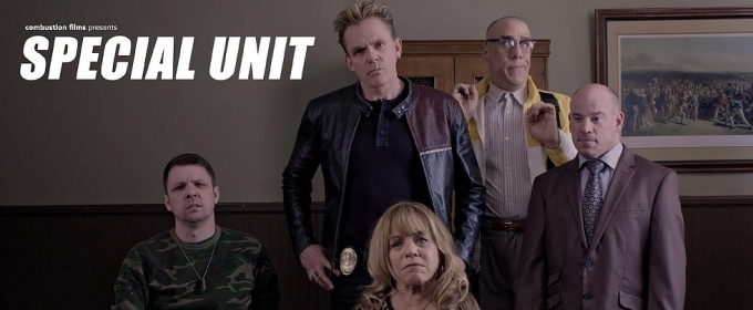 Christopher Titus & Combustion Films Release Action/Comedy SPECIAL UNIT