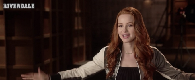 VIDEO: The CW Shares Interview With RIVERDALE's Madelaine Petsch