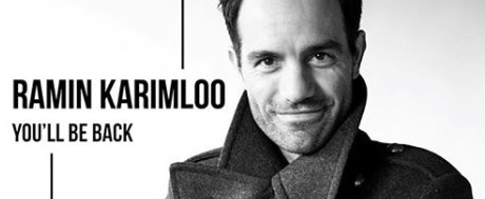 Ramin Karimloo Covers 'You'll Be Back' From HAMILTON - Stream and Download Now!