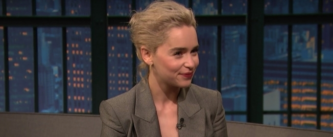 VIDEO: Emilia Clarke Chats SOLO: A STAR WARS STORY, GAME OF THRONES. & More on LATE NIGHT