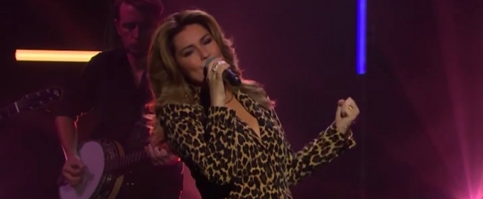 VIDEO: Shania Twain Performs 'Life's About to Get Good' on The Late Late Show
