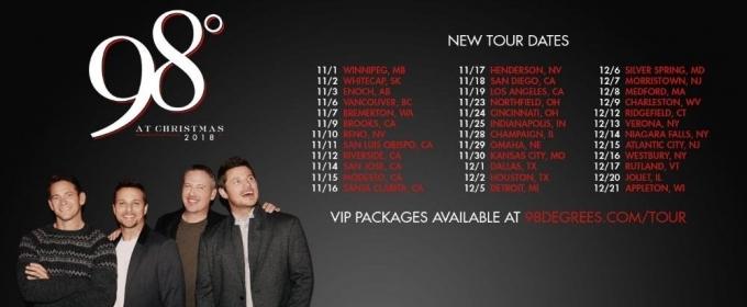 98 degrees announce 2018 christmas tour dates - 98 Degrees Christmas