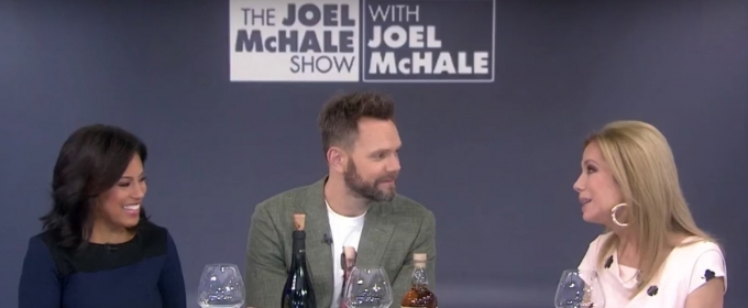 VIDEO: Joel McHale Chats His Netflix Series and Pours A Few Drinks on THE TODAY SHOW