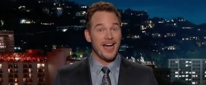 VIDEO: Chris Pratt Steps In To Guest Host JIMMY KIMMEL LIVE!