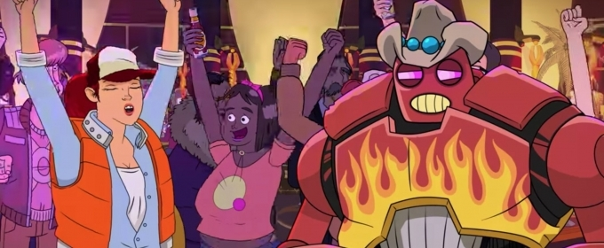 VIDEO: Youtube Releases Trailer for John Cena/Kat Dennings Animated Series DALLAS & ROBO