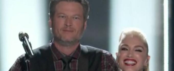 VIDEO:  Gwen Stefani & Blake Shelton Perform 'You Make It Feel Like Christmas' on THE VOICE