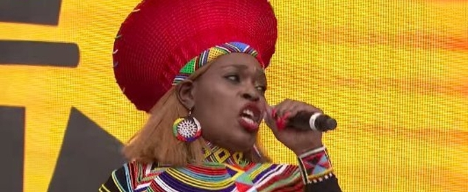 Video The Cast Of The Lion King Performs At West End Live