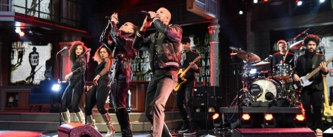 VIDEO: Andra Day and Common Perform 'Stand Up For Something' on LATE SHOW