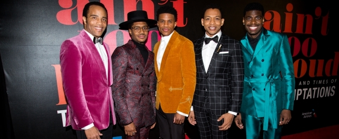 Photo Coverage: Go Inside the AIN'T TOO PROUD Opening Night Party