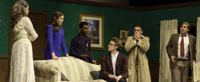 BWW Review: I Got MURDERED TO DEATH by John Carroll Theater's Hilarious 1930's Style Murder Mystery
