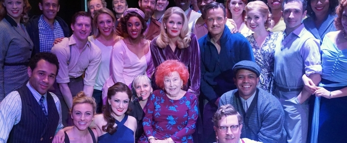 Photo: Original KISS ME, KATE Cast Member Visits Broadway Revival