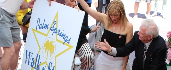 Photo Flash: Pop Star Debbie Gibson Honored with Palm Springs Walk of Fame Star