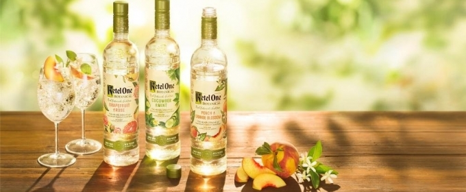 Marinas Menu & Lifestyle: KETEL ONE BOTANICAL is Elegant and Refreshing