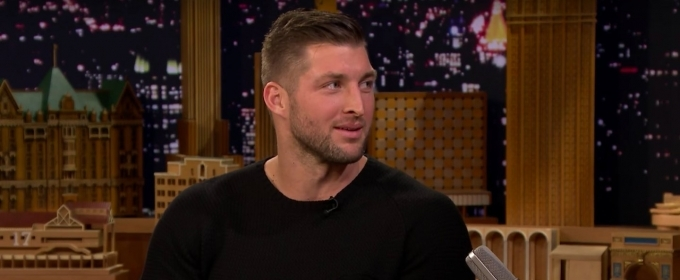 VIDEO: Tim Tebow Reviews Bad Fan Tattoos on THE TONIGHT SHOW