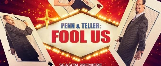 Tune In Alert: PENN & TELLER: FOOL US Season 5 Premieres Monday, June 25 8pm ET on The CW!
