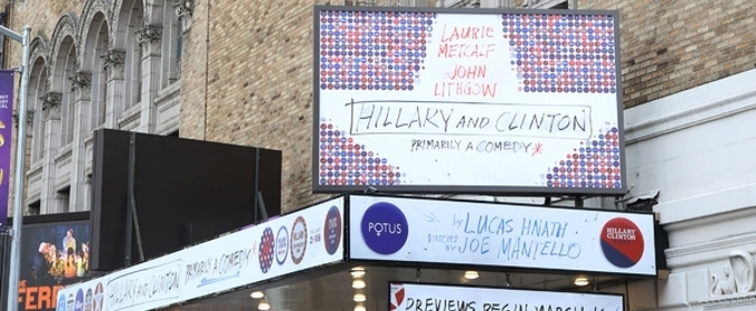 Meet the Cast of HILLARY AND CLINTON- Now in Previews!