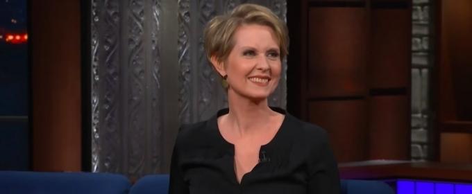 VIDEO: Cynthia Nixon Isn't Just Running To Make A Point
