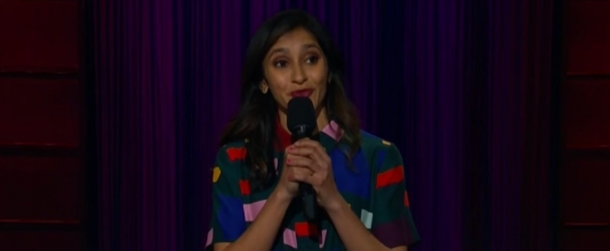 VIDEO: Aparna Nancherla Performs Stand-Up on THE LATE LATE SHOW
