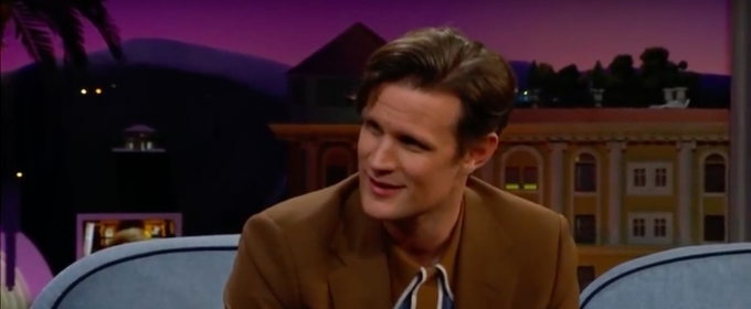 VIDEO: Watch Matt Smith Give Advice to New Prince Phillip on THE LATE LATE SHOW