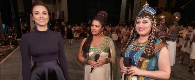 VIDEO: Anna Netrebko and Anita Rachvelishvili on The Met's AIDA
