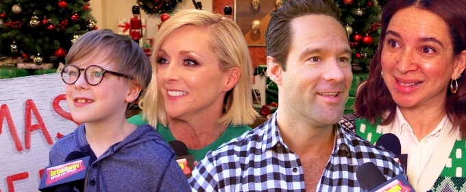 BWW TV: Cue Christmas! The Stars of A CHRISTMAS STORY LIVE Share Secrets from Set!