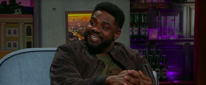 VIDEO: Ron Funches Talks WWE Aspirations on THE LATE LATE SHOW