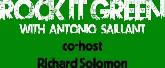 Antonio Saillant Launches 'Rock It Green Radio' on Spotify