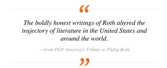 Honoring the Late Literary Giant Philip Roth