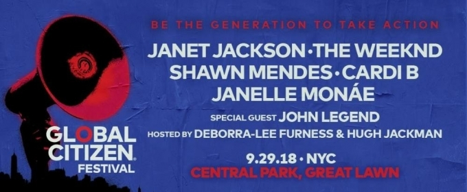 Global Citizen Announces Lineup for 2018 Festival, Featuring The Weeknd, Janet Jackson, and More