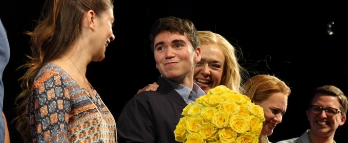 Photo Coverage: Noah Galvin Takes First Bows in DEAR EVAN HANSEN!