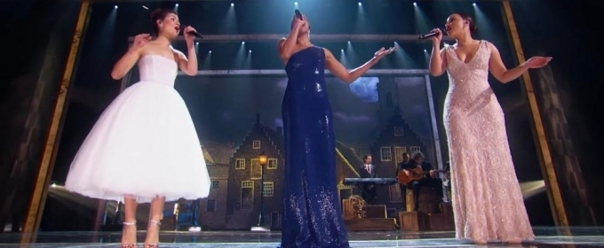 VIDEO Original Schuyler Sisters Rene Elise Goldsberry Jasmine Cephas Jones And Phillipa Soo Honor HAMILTON At The Kennedy Center Honors