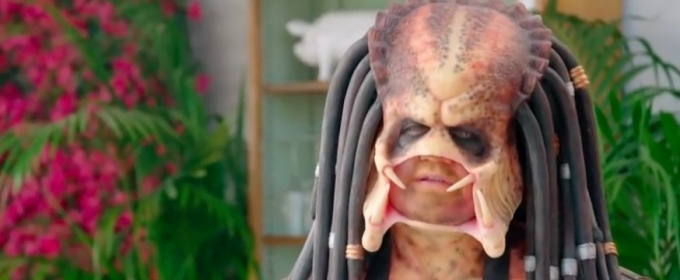 VIDEO: Predator Is Desperate for New Acting Roles on THE LATE LATE SHOW