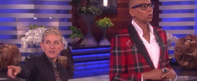VIDEO: RuPaul Visits Ellen To Host 'Lip Sync For Your Wife'