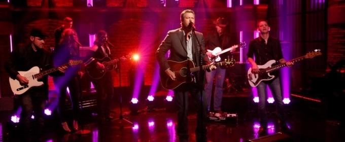 VIDEO: Blake Shelton Performs 'Turnin' Me On' on LATE NIGHT