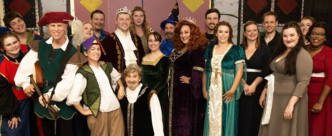bww review once upon a mattress at artistic synergy of baltimore is a royally fun romp. Black Bedroom Furniture Sets. Home Design Ideas
