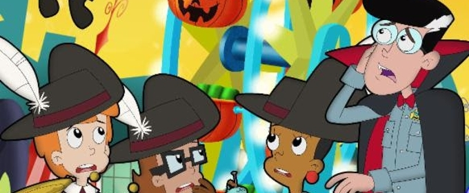 PBS Kids' Launches Season 11 of CYBERCHASE with Halloween-Themed Episode