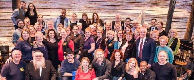Photo: Islanders and From Aways Descend On London For COME FROM AWAY Opening