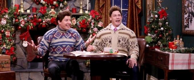 VIDEO: John Cena & Jimmy Fallon Perform Holiday Mad Libs Theater