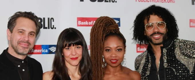 Photo Coverage: Daveed Diggs, Thomas Sadoski & More Celebrate Opening Night of WHITE NOISE at the Public Theater