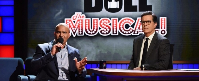 VIDEO: Christopher Jackson Presents 'Bull: The Musical' on LATE SHOW