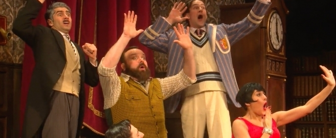 Get a Peek at the Mayhem of THE PLAY THAT GOES WRONG Off-Broadway