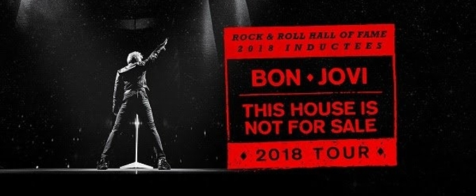 Bon Jovi Announces 'This House Is Not For Sale Tour' Spring 2018 Dates