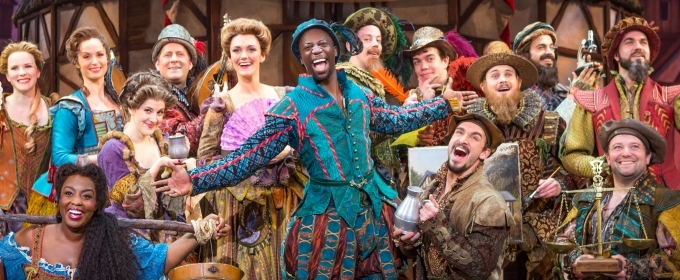 BWW Interview: Nicholas Rashad Burroughs of SOMETHING ROTTEN! at Wharton Center Says You Will Have NewAbs From Laughing So Much