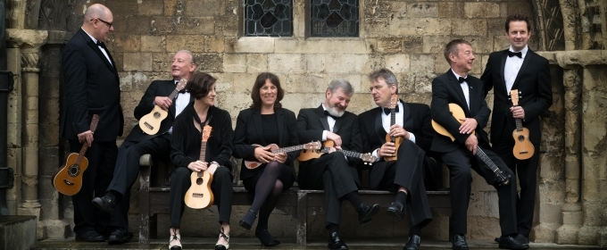 BWW Interview: George Hinchliffe of UKULELE ORCHESTRA OF GREAT BRITAIN at Peace Center