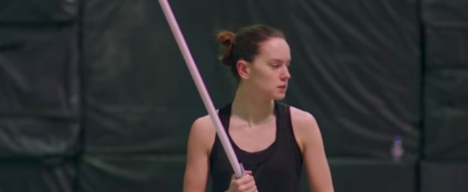 VIDEO: Daisy Ridley Learns to Fight in New STAR WARS Featurette