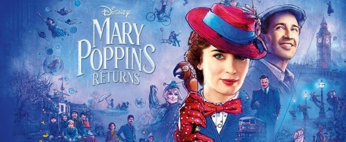Image result for mary poppins returns cover